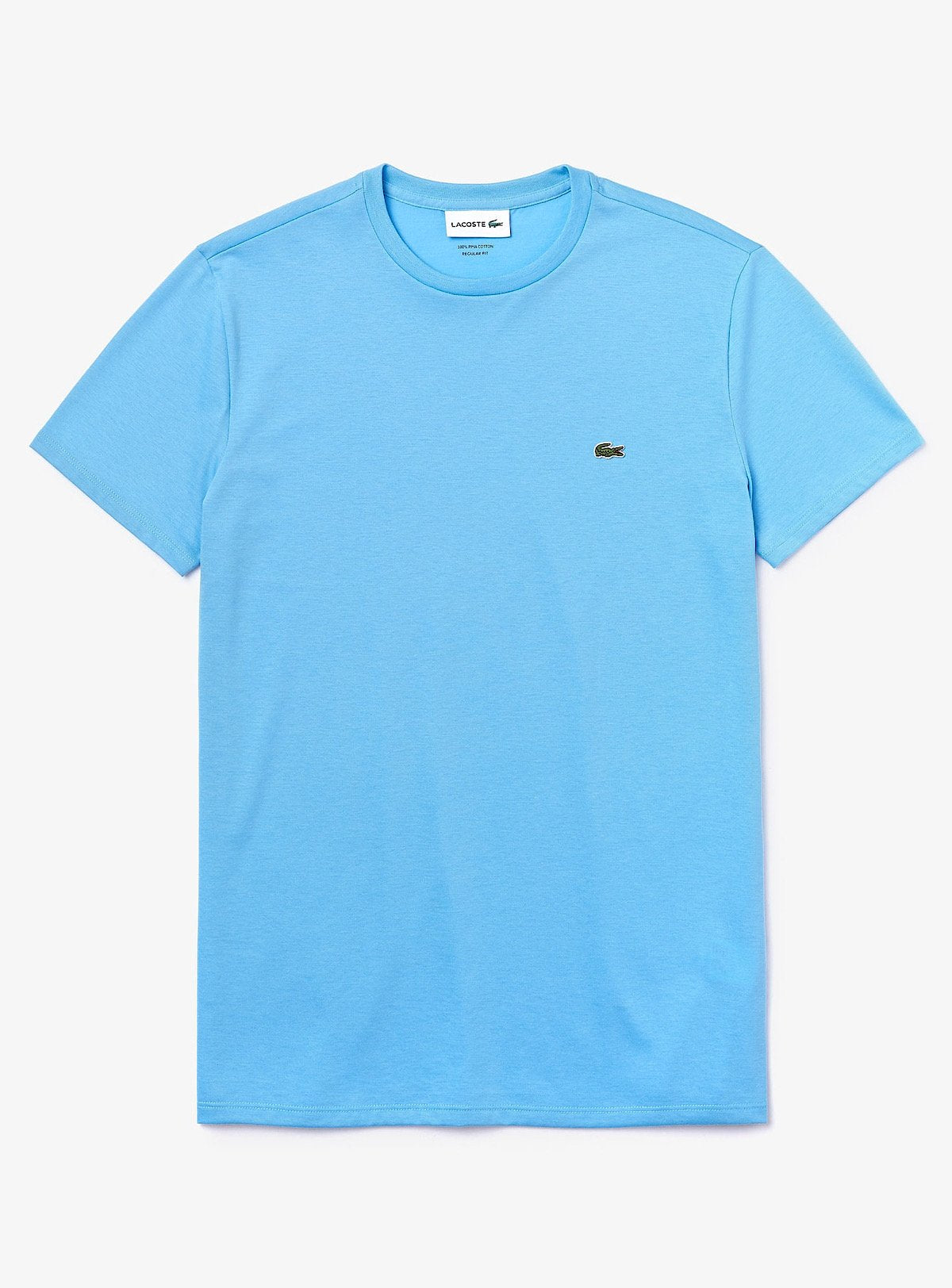 Lacoste T-Shirt - Crew - Baby Blue 709 - TH6709