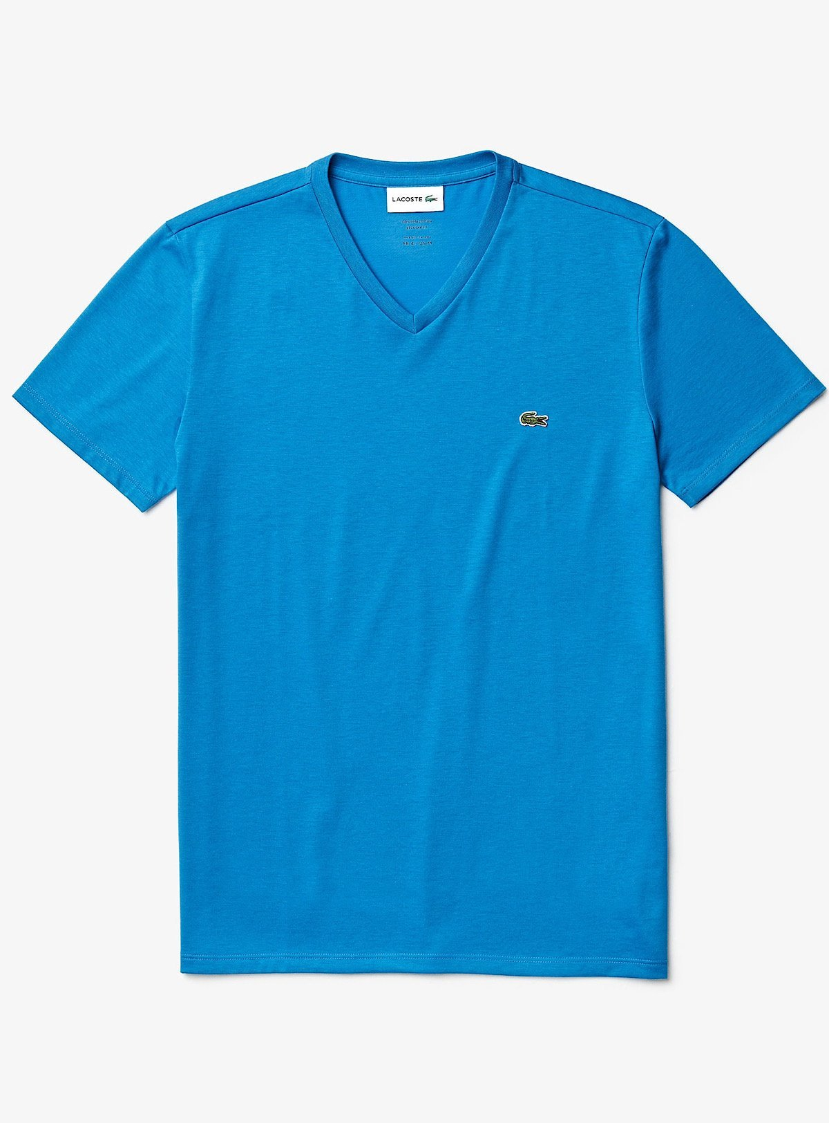 Lacoste T-Shirt - V-Neck - Blue L61 - TH6710