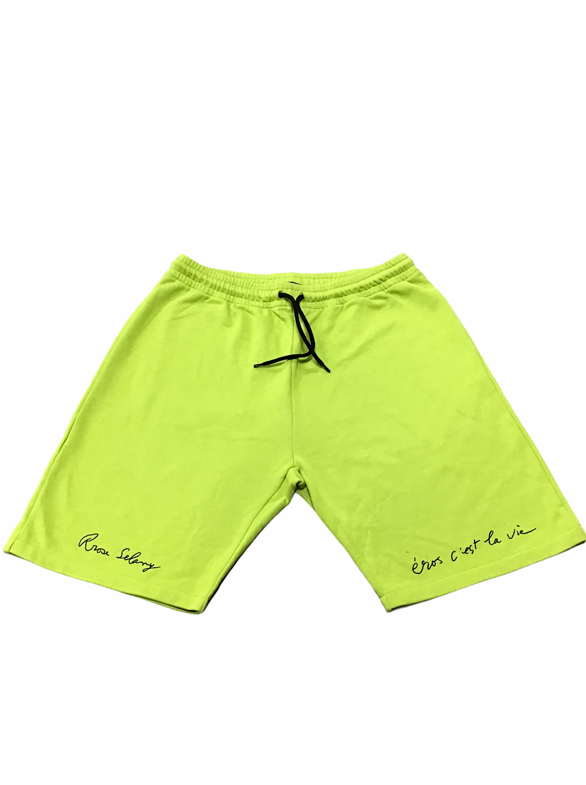 A Bush Of Ghosts Shorts - Neon Green