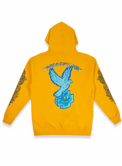 Pink Dolphin Hoodie - Eagle - Gold - OH12011EAHGO