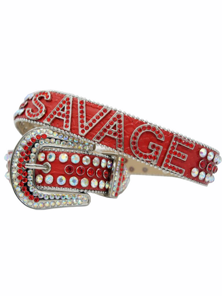 DNA Belt - Savage - Red with Red and Muti