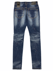 Majestik Jeans - Galaxy Paint - Dark Indigo - DL2062