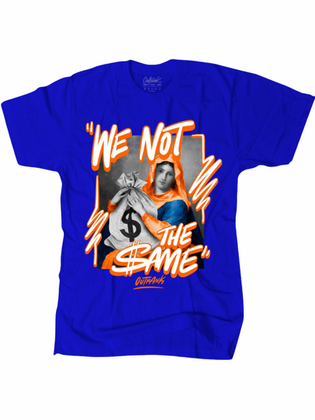 Outrank T-Shirt - We Not the Same - Blue - OR1518