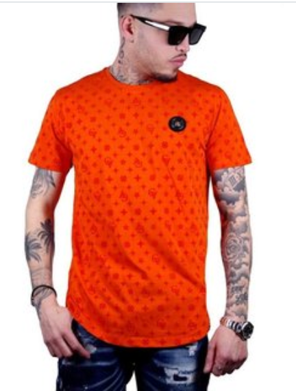 George V T-Shirt - Signs - Orange - GV-2023