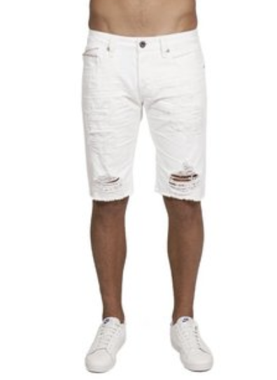 Cult Of Individuality Shorts - In 10 Year - White - 67A0-SR16B