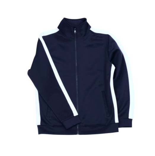 Rebel Minds Track Jacket - Navy/White - 100-501