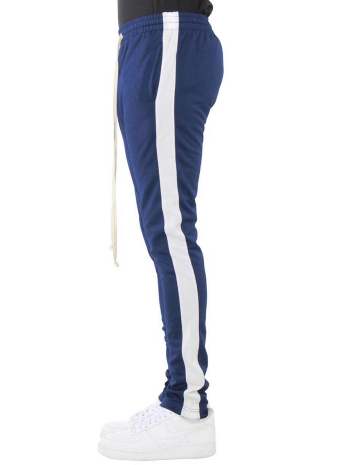 EPTM Track Pants - Navy And Ivory - EP7732