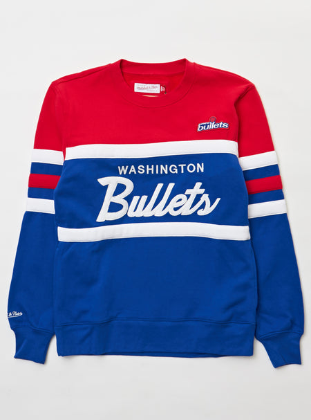 Mitchell & Ness Sweater - Head Coach Crew Chicago Bullets - Royal