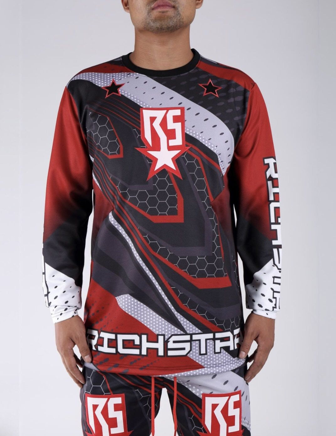 Rich Star Track Top R2230111 Red