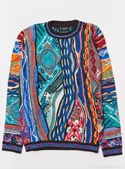 Coogi Sweater - Knit - Blue Multi - C69310