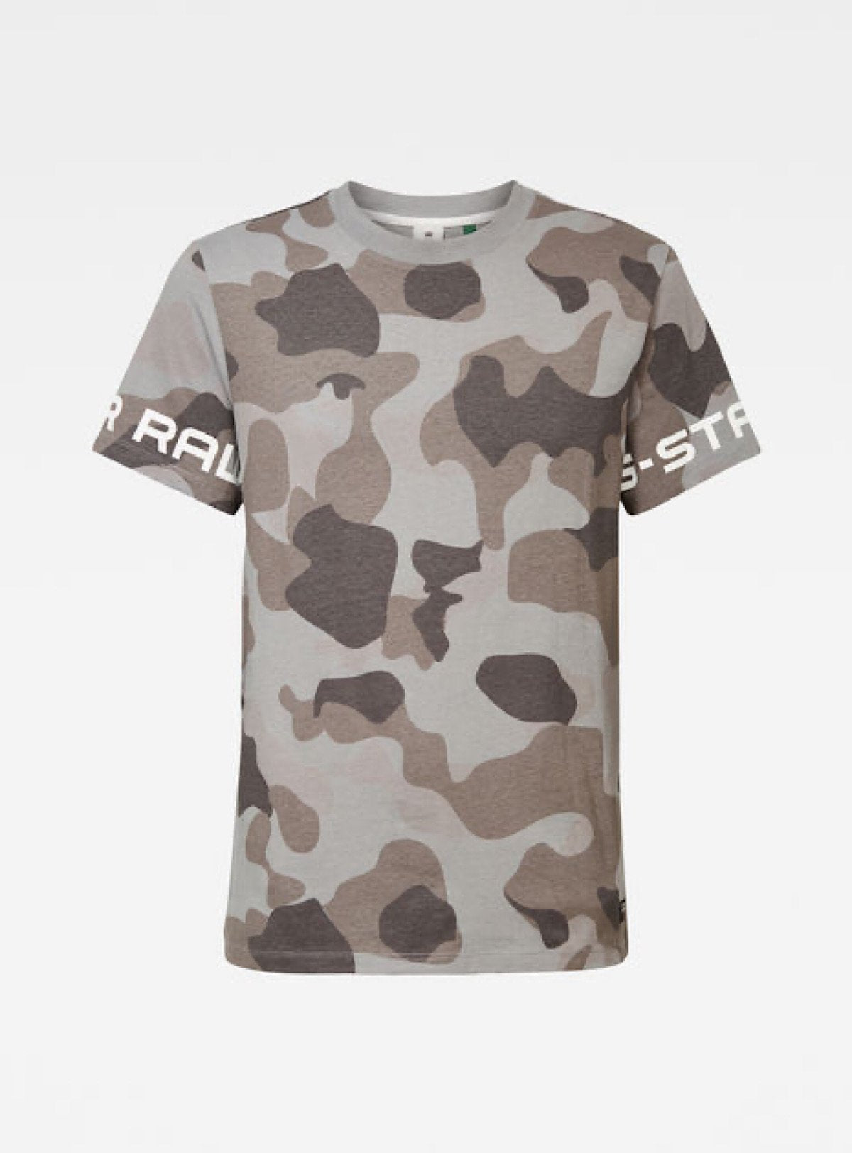 G-Star T-Shirt - Print - Grey Camo - D17148-C338