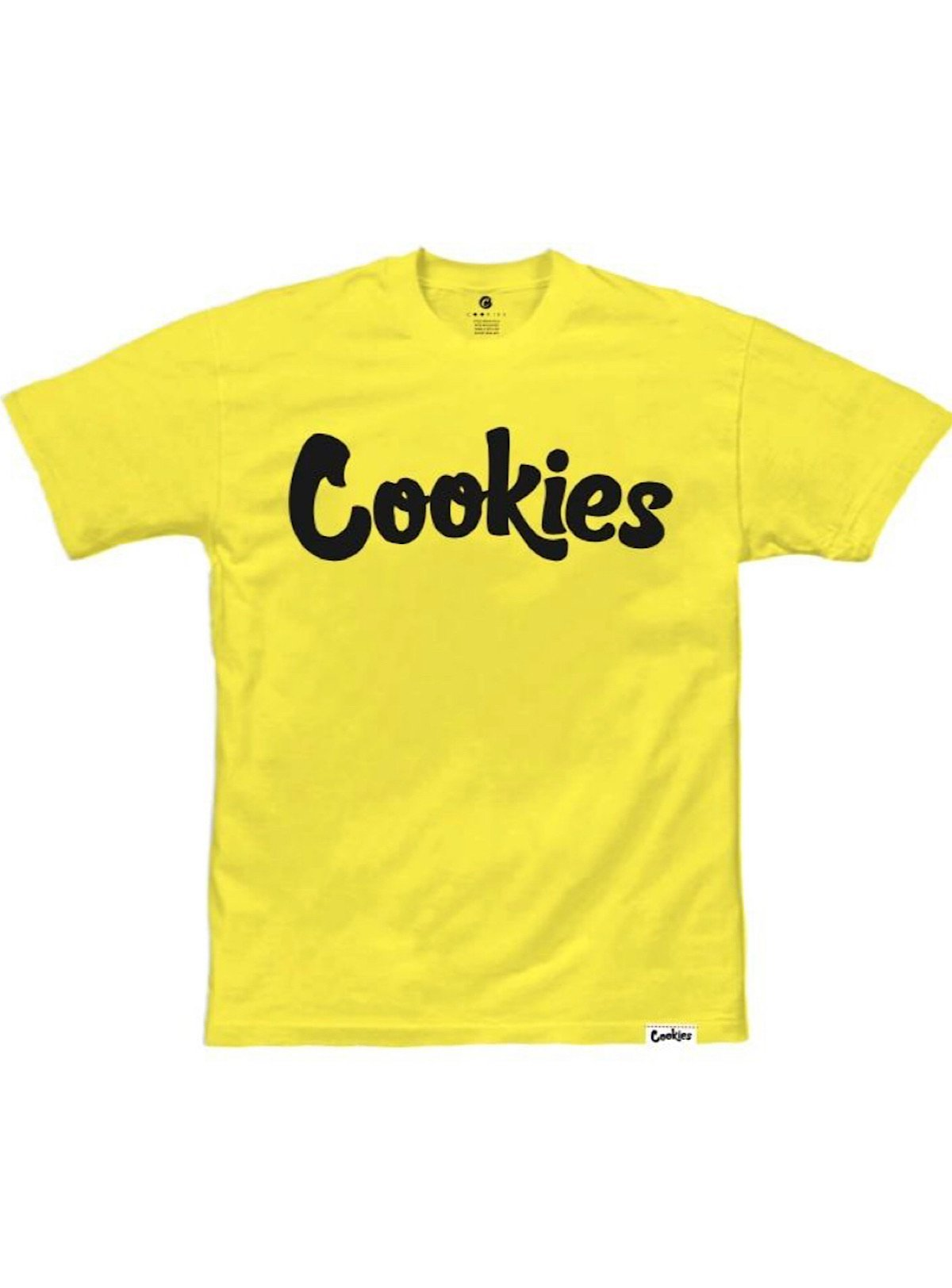 Cookies T-Shirt - Original - Yellow And Black
