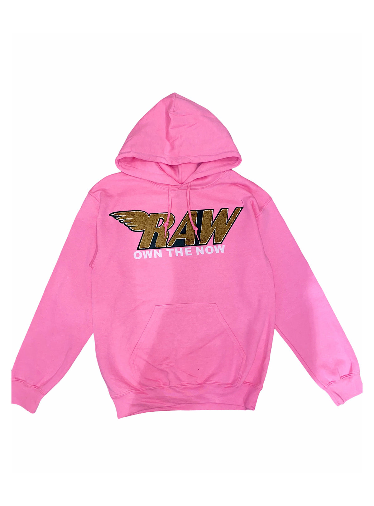 Rawyalty Hoodie - Raw - PInk And Brown