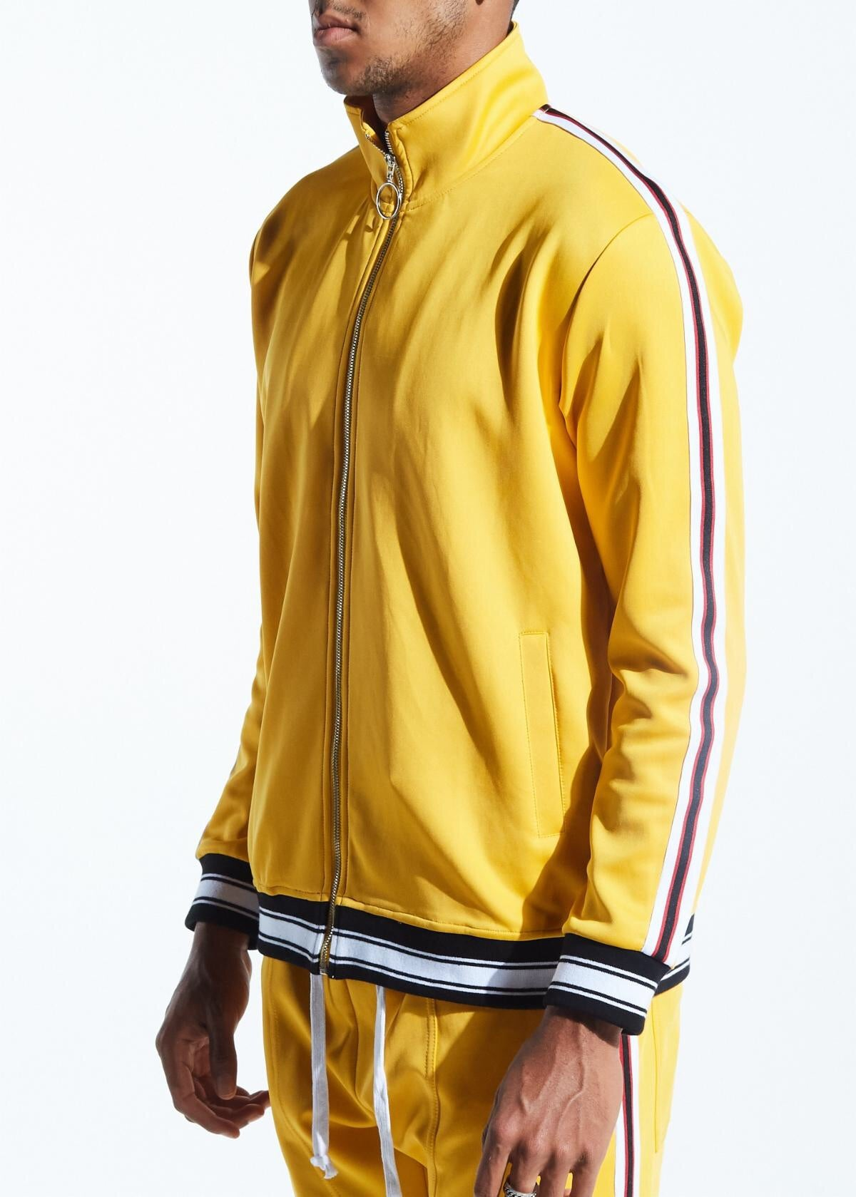 Karter Collection Track Jacket Rogers Krtrfa218-106 Yellow
