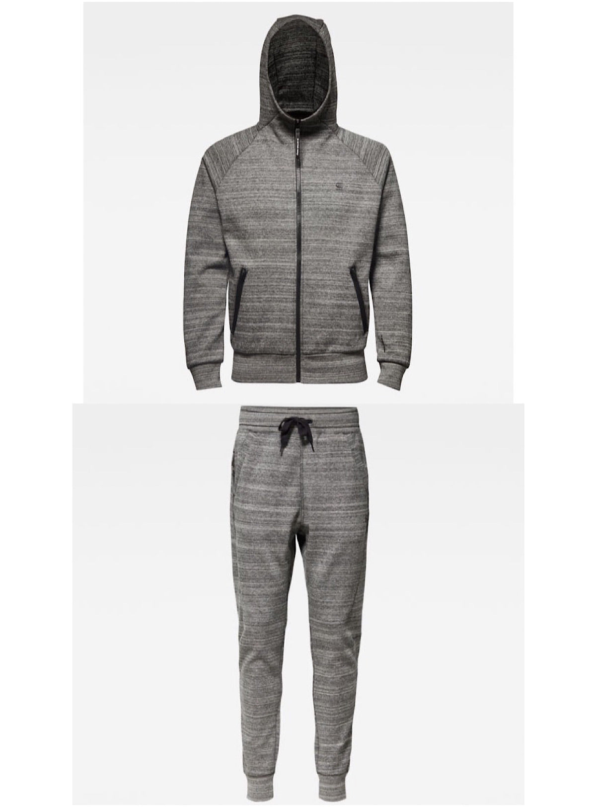 G-Star Sweatsuit - Aero Laah Slim - Grey - D14585