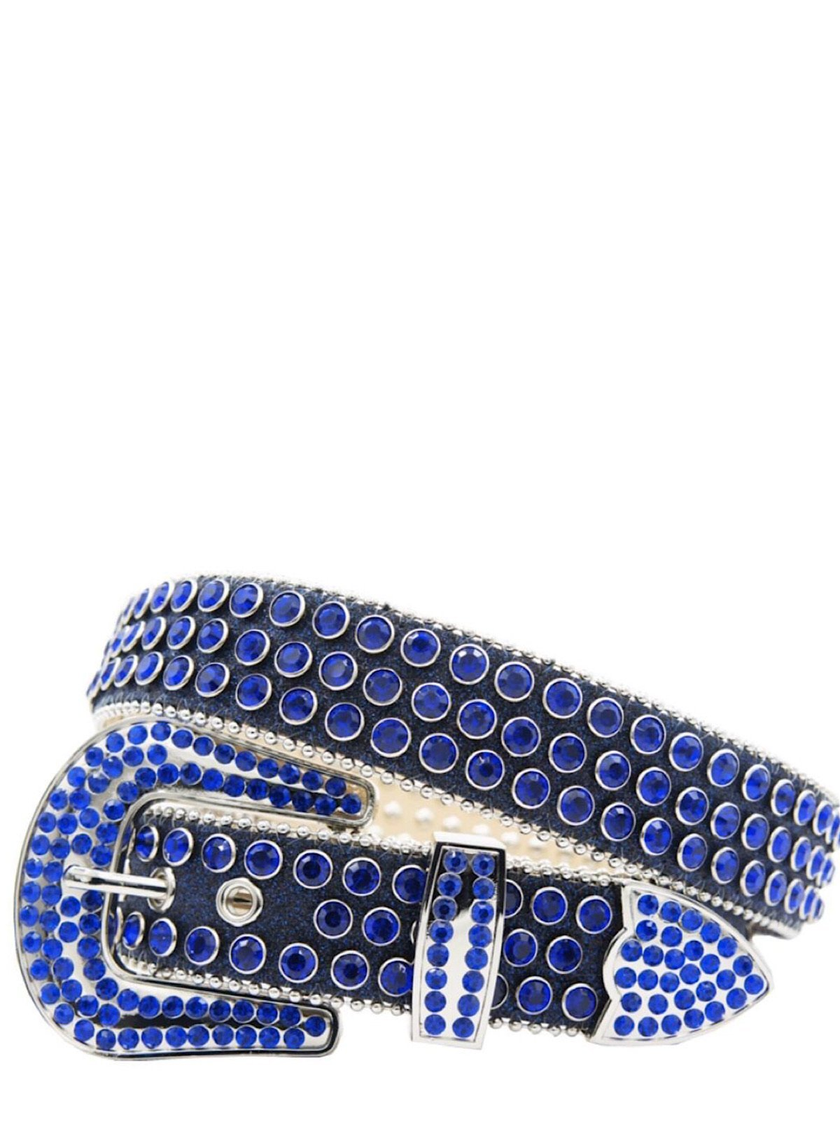 DNA Belt - Shiny Stones - Royal Blue