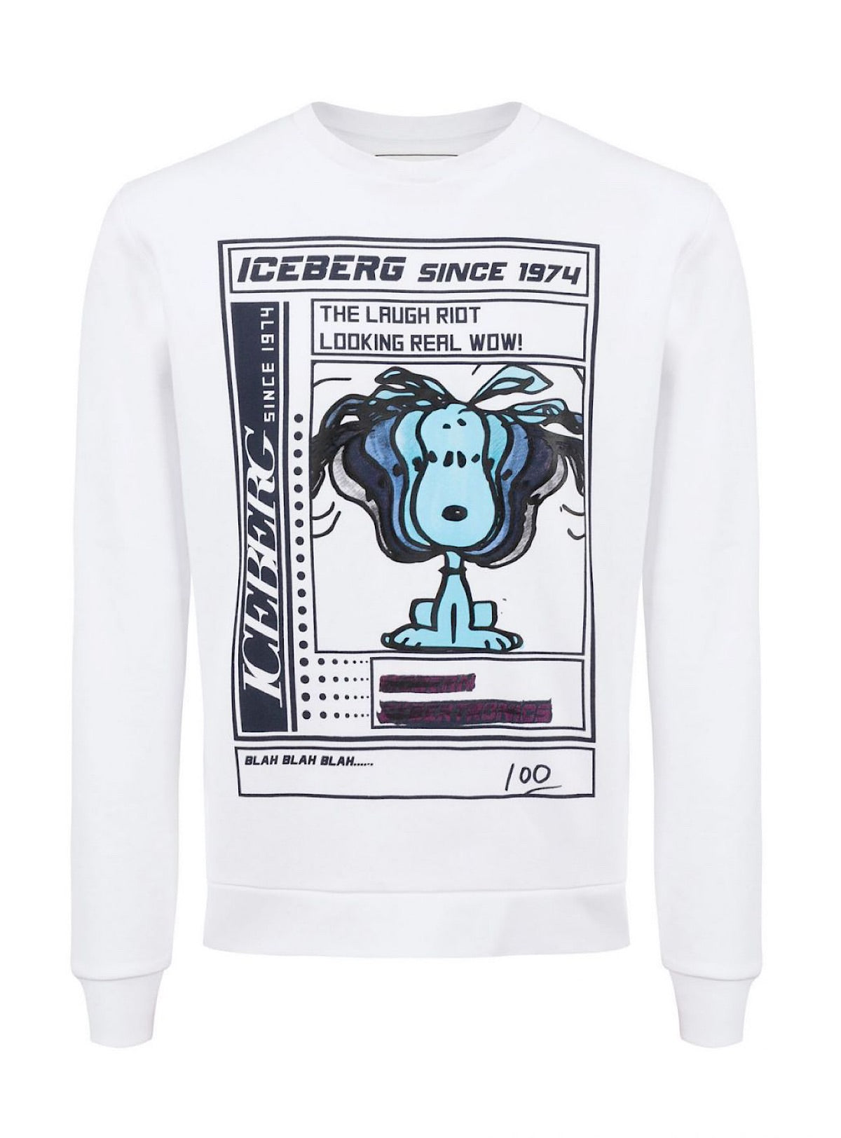 Iceberg Sweater - Felpa - White