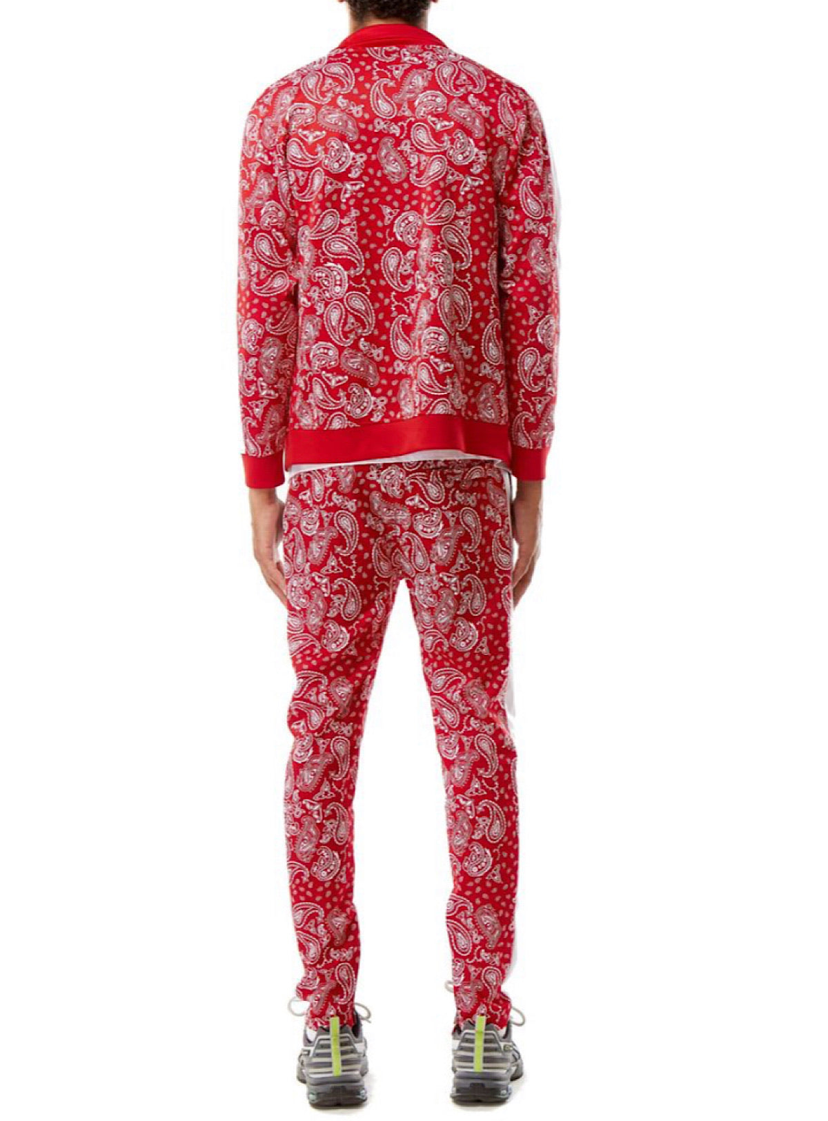Rebel Minds Track Suit - Bandana - Red - 1A2-513