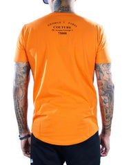 George V T-Shirt - Travel - Orange - GV-2074