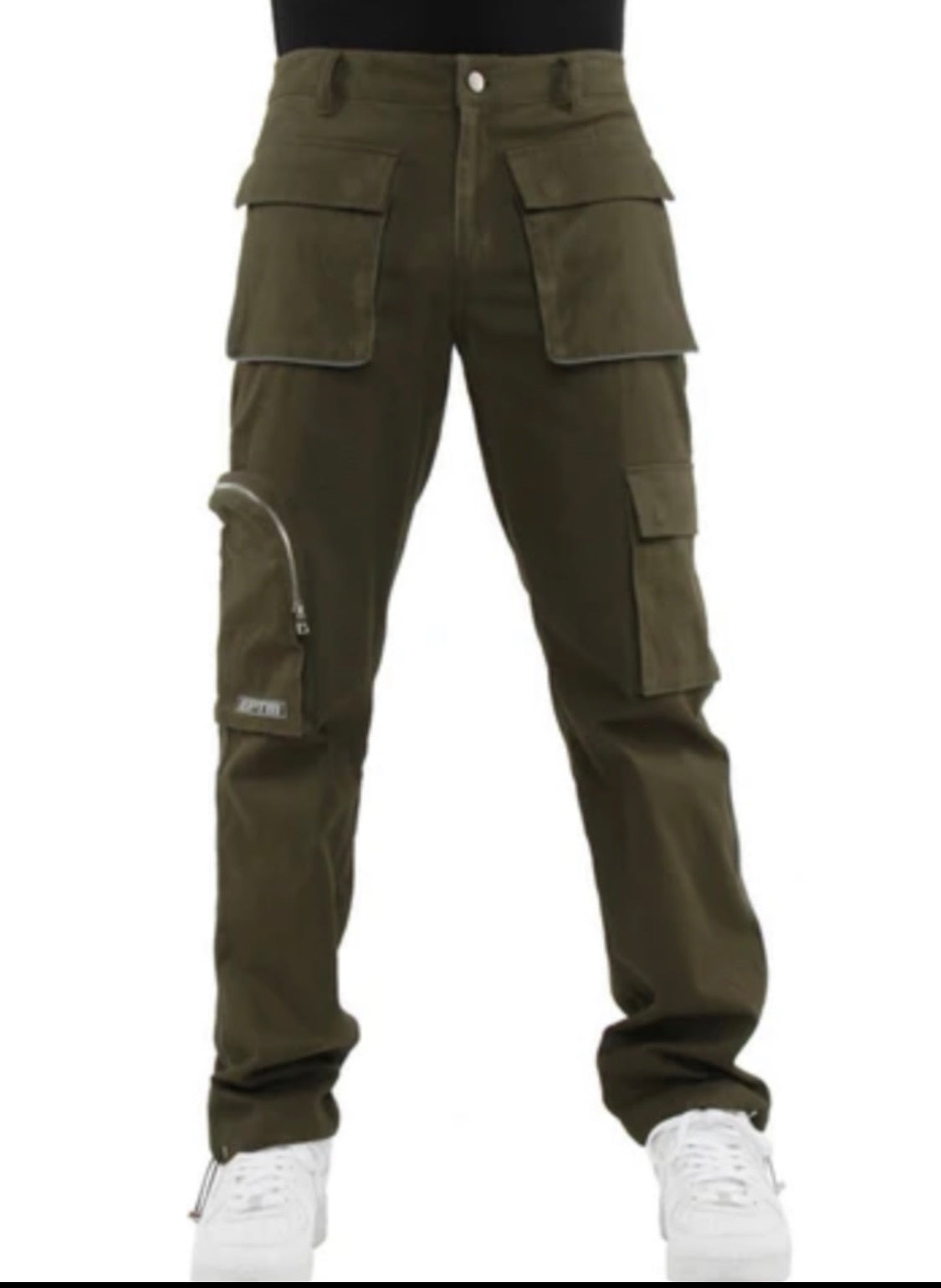 EPTM Track Pants - Piping Cargo - Dark Olive