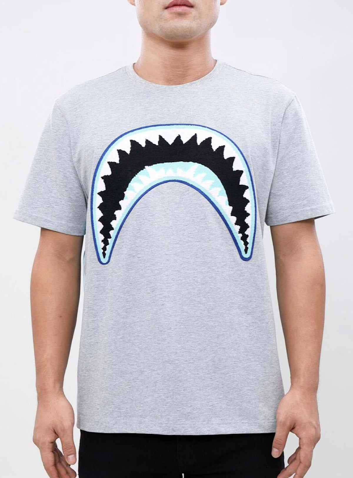 Eternity T-Shirt - Shark Mouth - Grey - E1133195