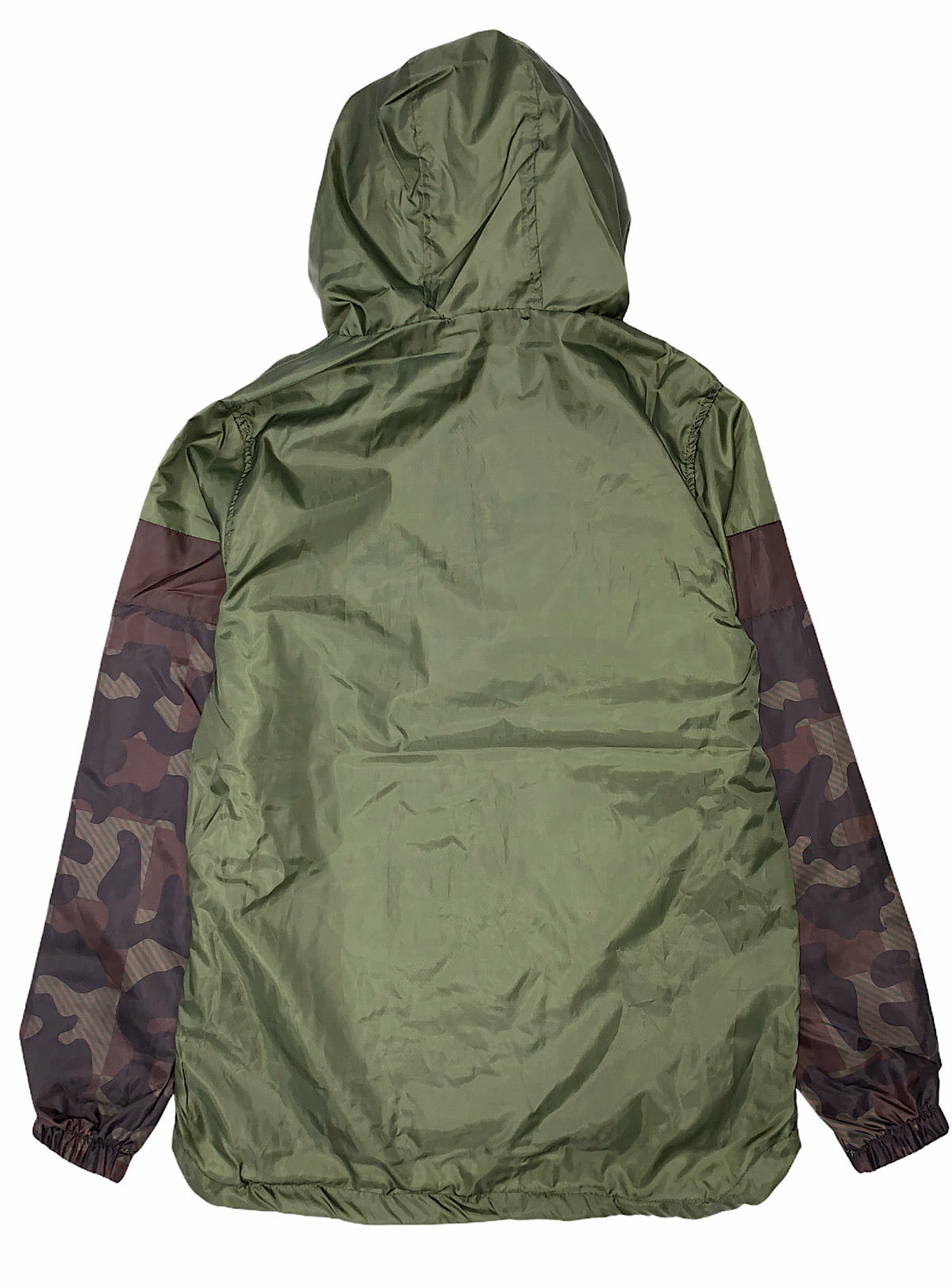 Rebel Minds Windbreaker - Camo - Olive