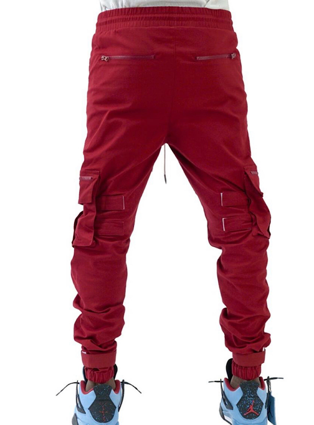 The Hideout Clothing Joggers - Eternal Energy Cargo - Burgundy - SU20-11