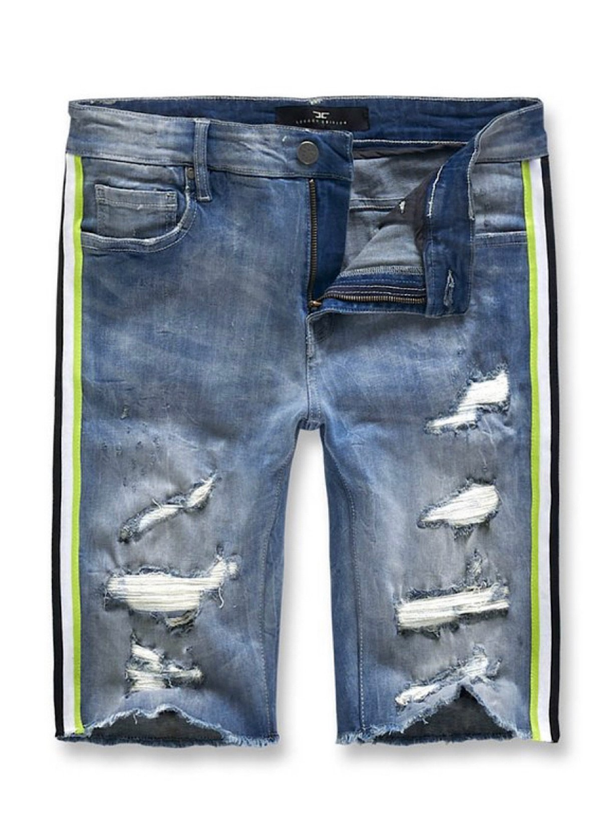 Jordan Craig Shorts - Studio Dark Blue And Lime - J3157S