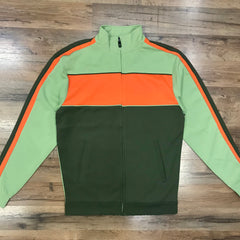 ROYAL BLUE TRACK JACKET 79017 green/olive/orange