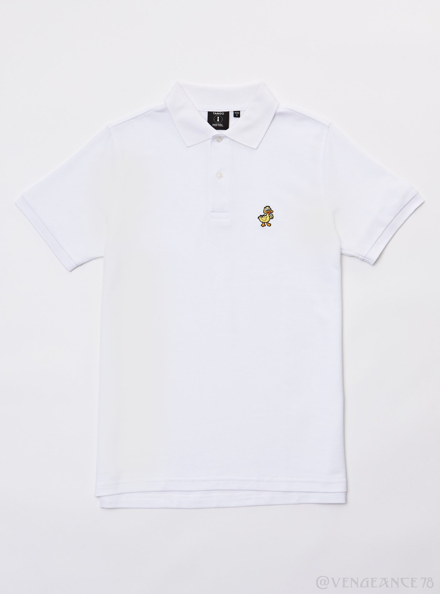 Tango Hotel Duck Polo Thb1240kt White
