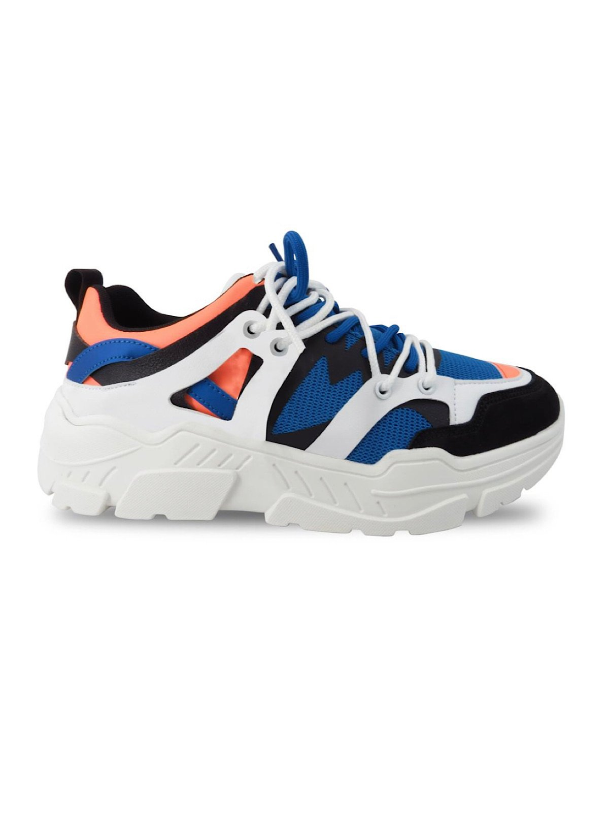 Javi Shoes - Blast - Royal And Orange