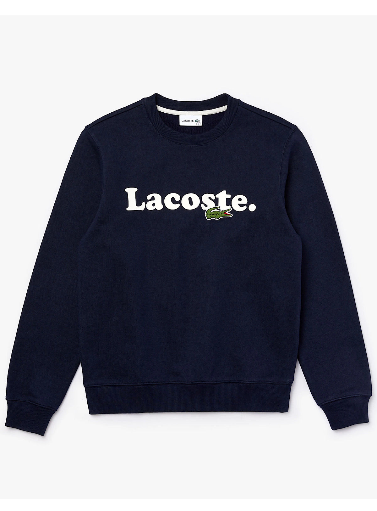 Lacoste Crewneck Sweater - Branded - Navy - SH2173