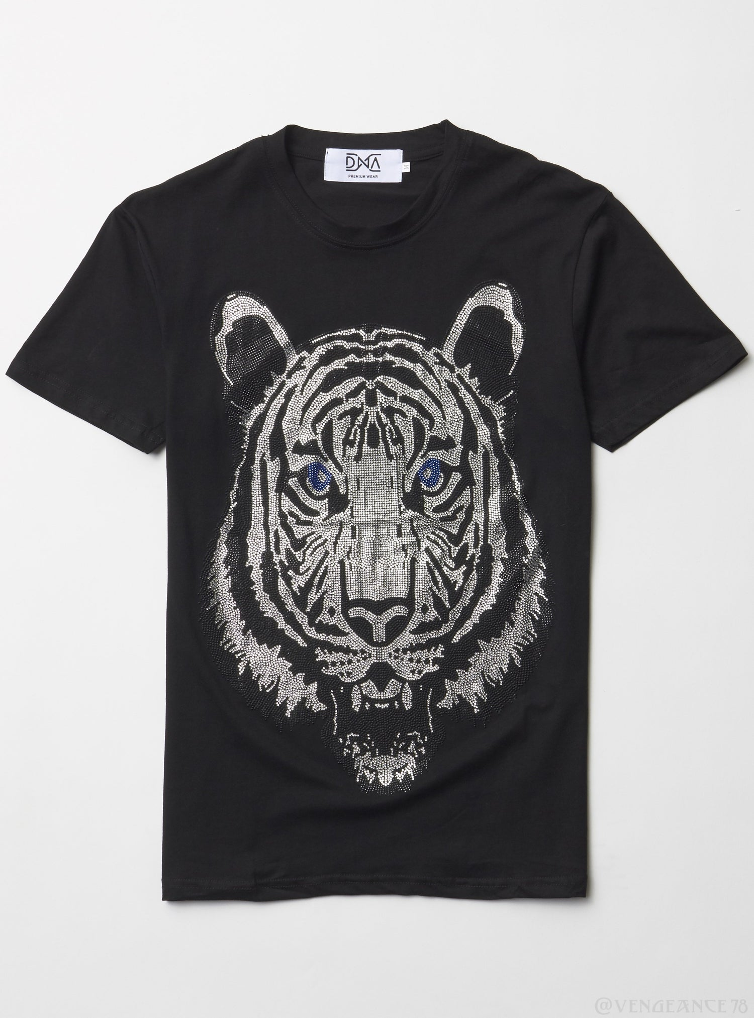 DNA T-Shirt - Tiger - Black