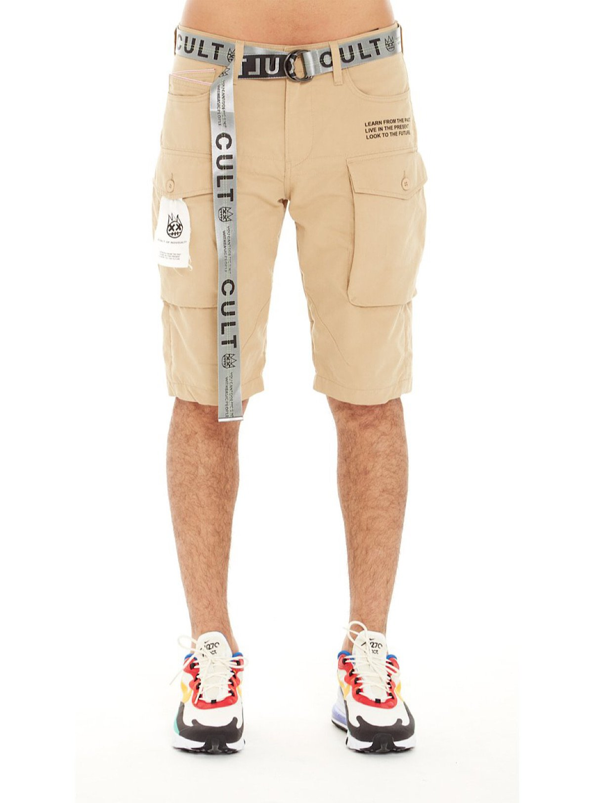 Cult Of Individuality Shorts - Taupe Cream - 620A0-CS16D