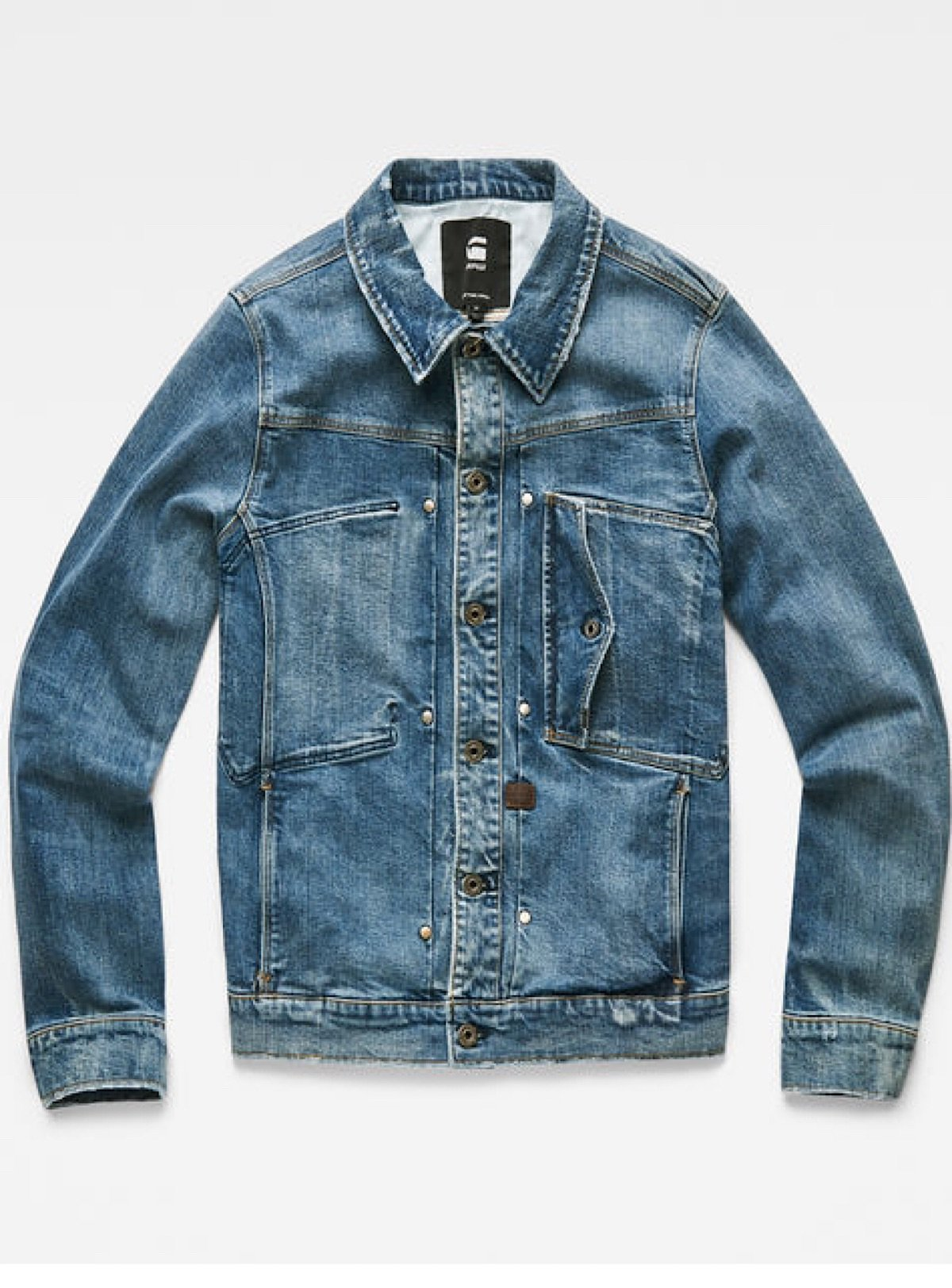 G-Star Jacket - Scutar Slim - Blue Denim - D14499