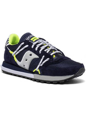 Saucony Shoes - Jazz Dst - Navy And Silver - S70528-9