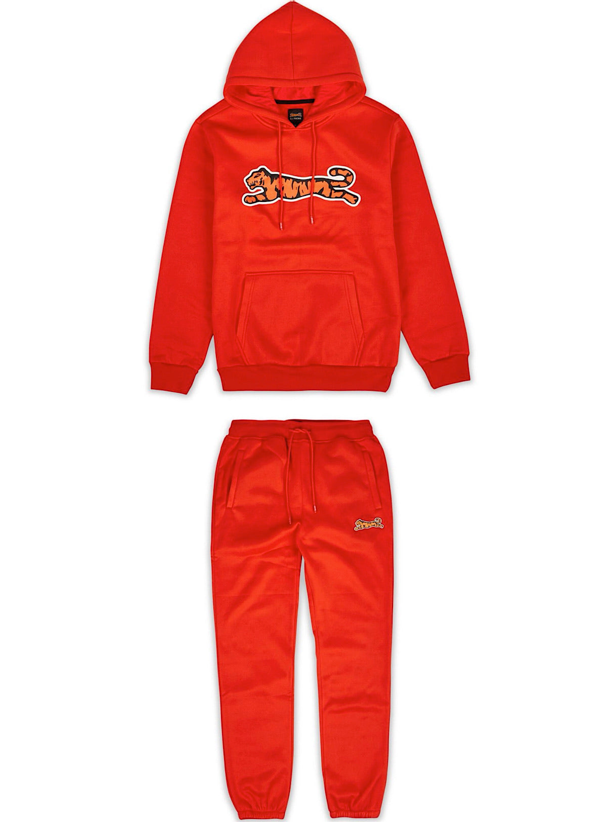 Le Tigre Sweatsuit - Logo - Red - LA1-002