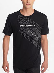 Karl Lagerfeld T-Shirt - Embossed - Black