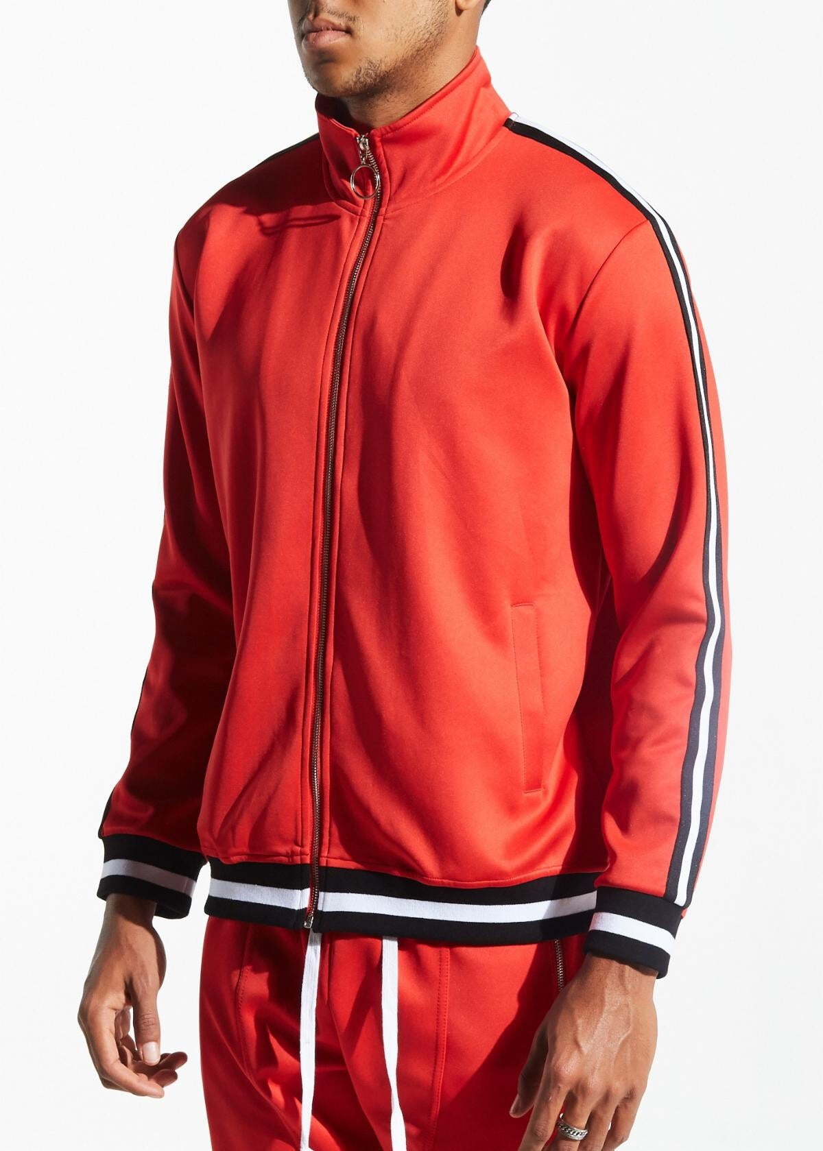 Karter Collection Track Jacket Galactus Krtrfa218-107 Red Orange