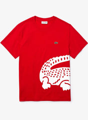 Lacoste T-Shirt - Big Croc - Red - TH5139