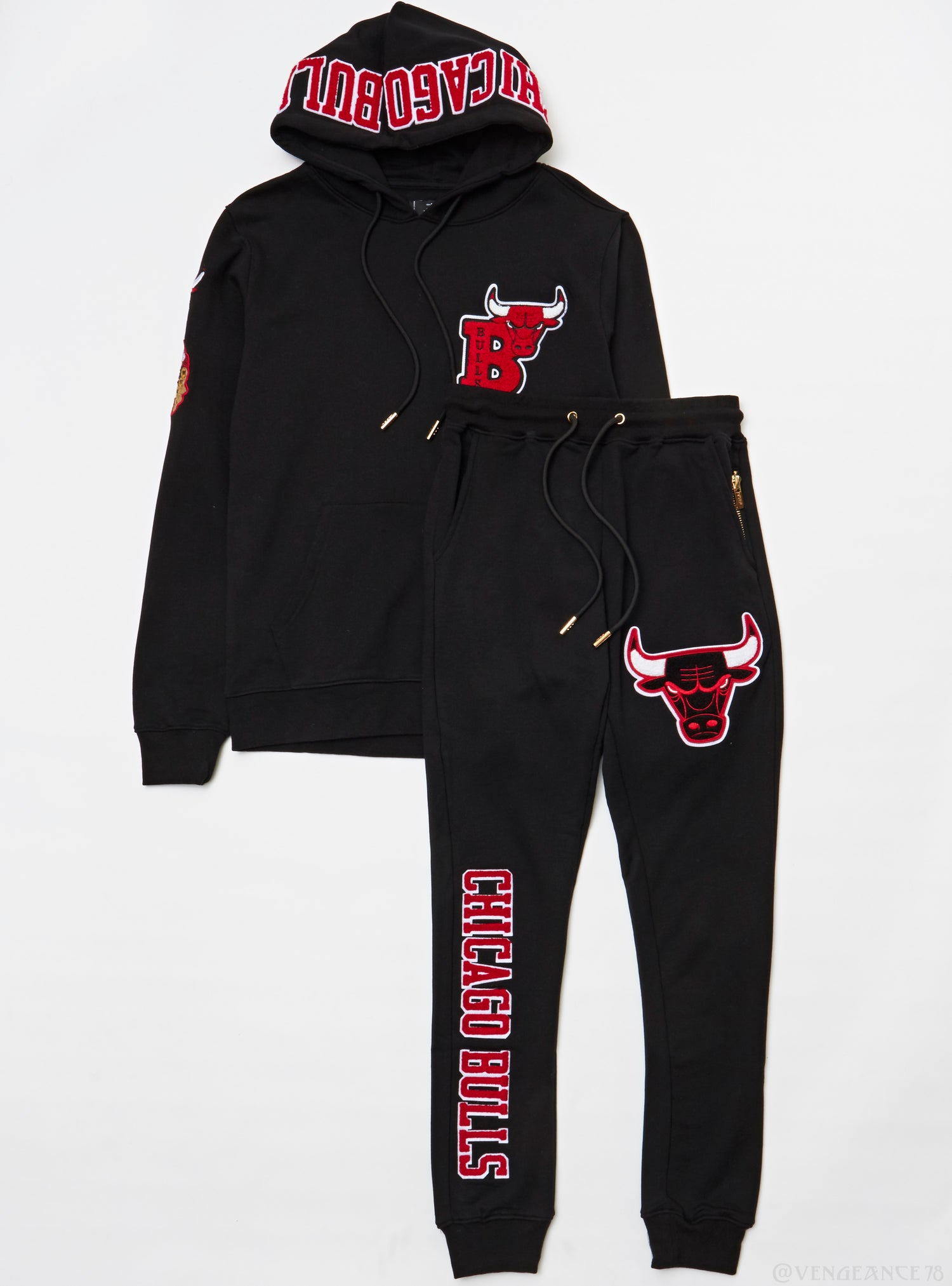 Pro Standard Sweatsuit - Chicago Bulls - Black
