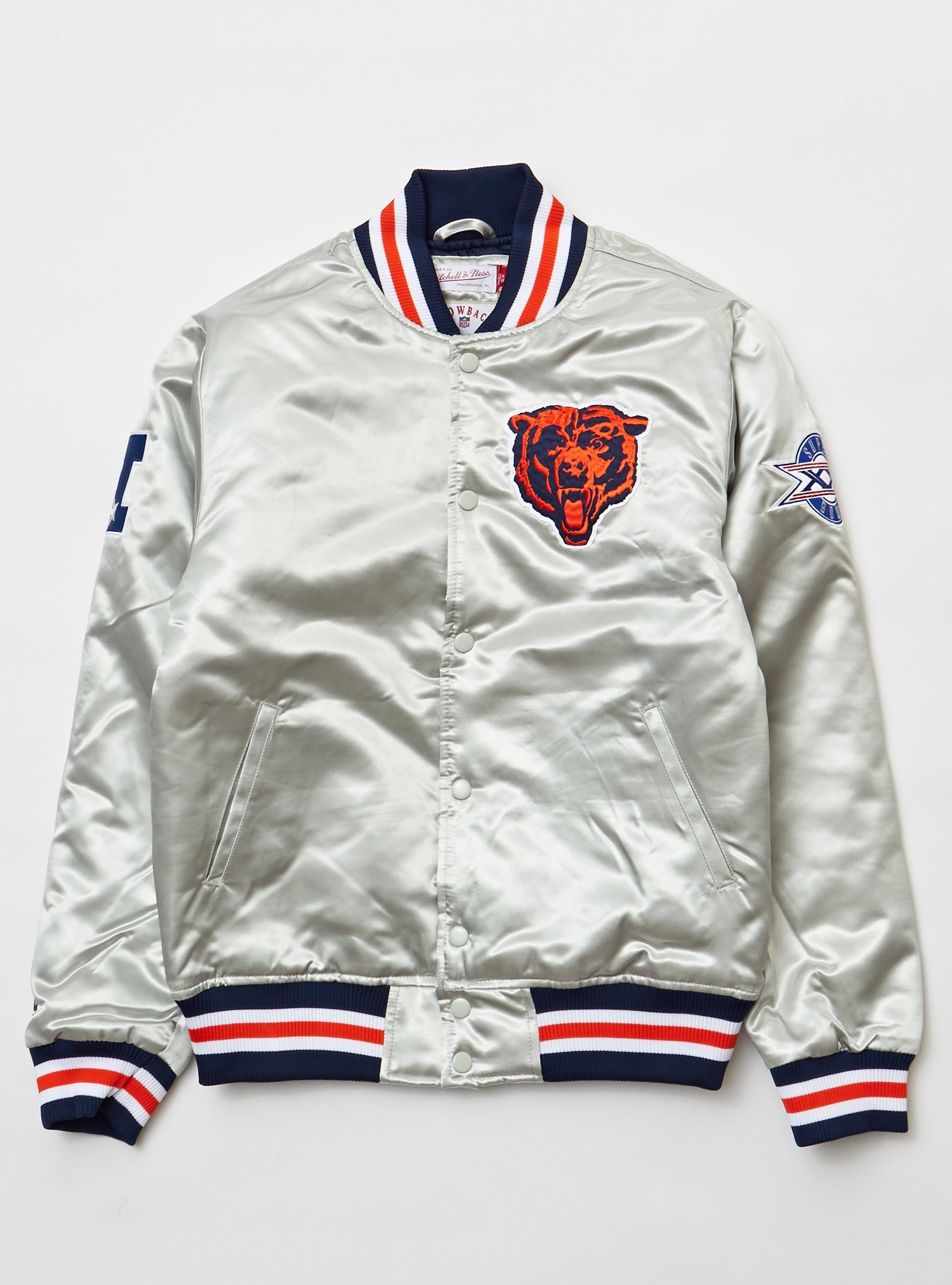 Mitchell And Ness - Championship Jacket - Chicago Bears