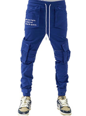 The Hideout Clothing Joggers - Eternal Energy Cargo - Royal Blue - SU20-11