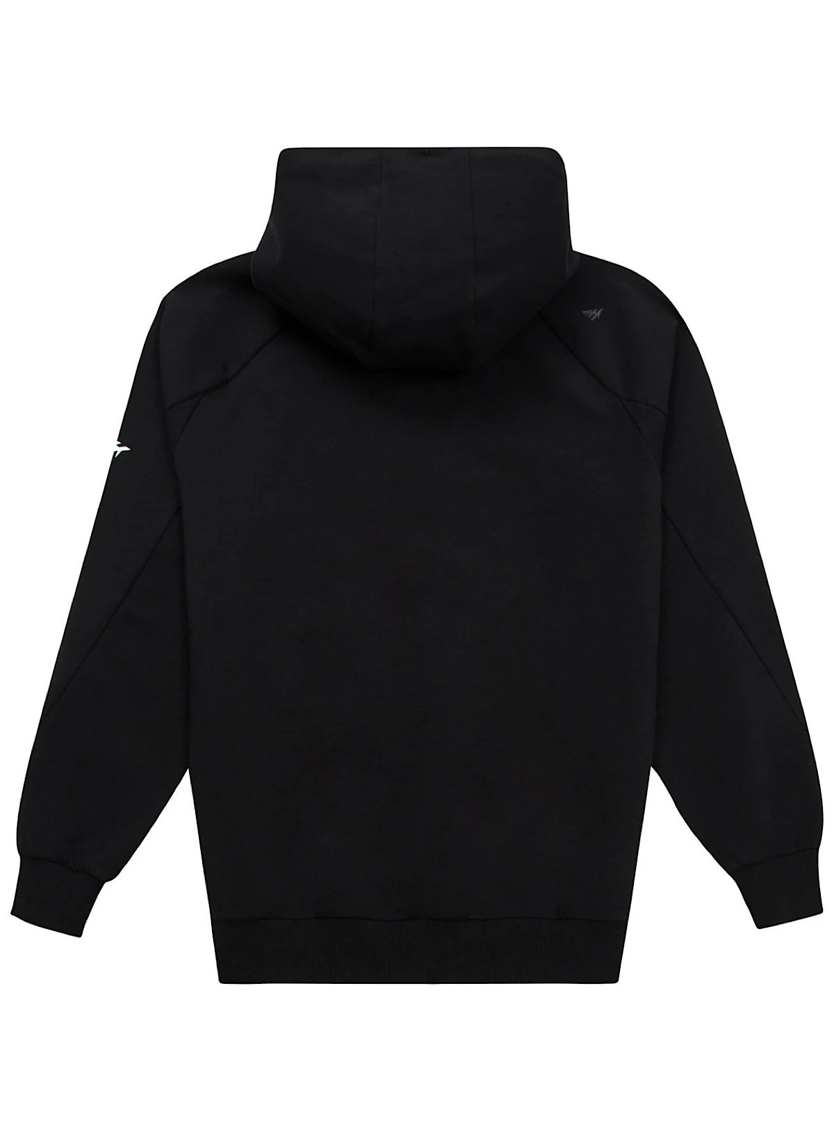 Paper Plane Hoodie - Fly With Us - Black - 101027