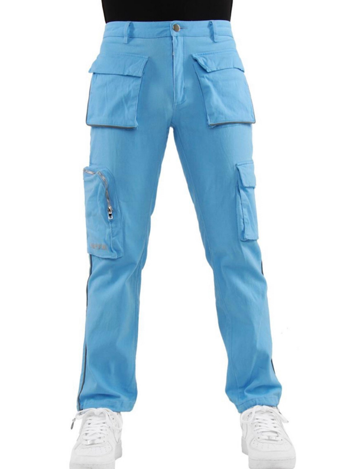 EPTM Track Pants - Piping Cargo - Sky Blue