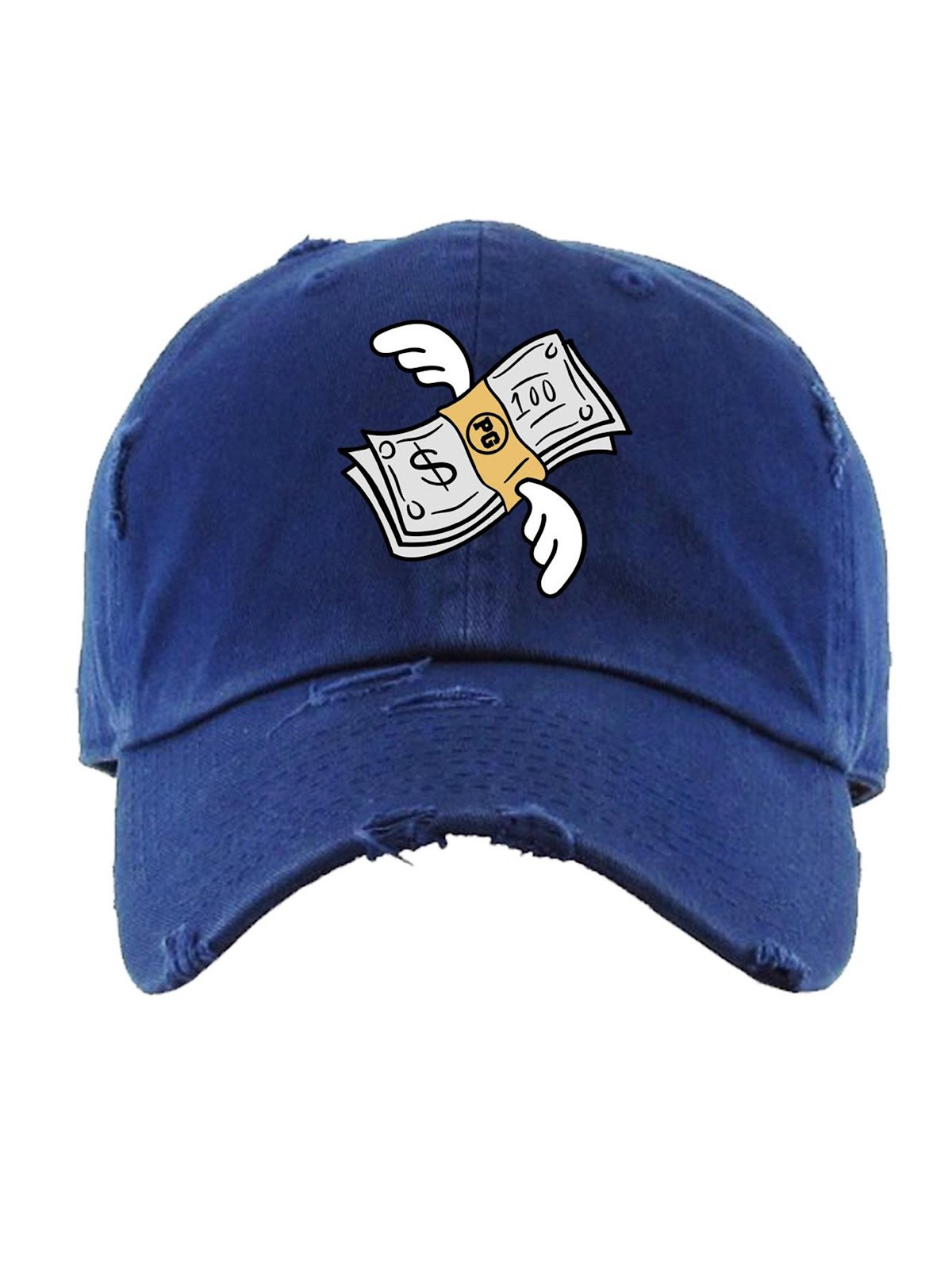 PG Apparel Hat - Flying Money - Navy