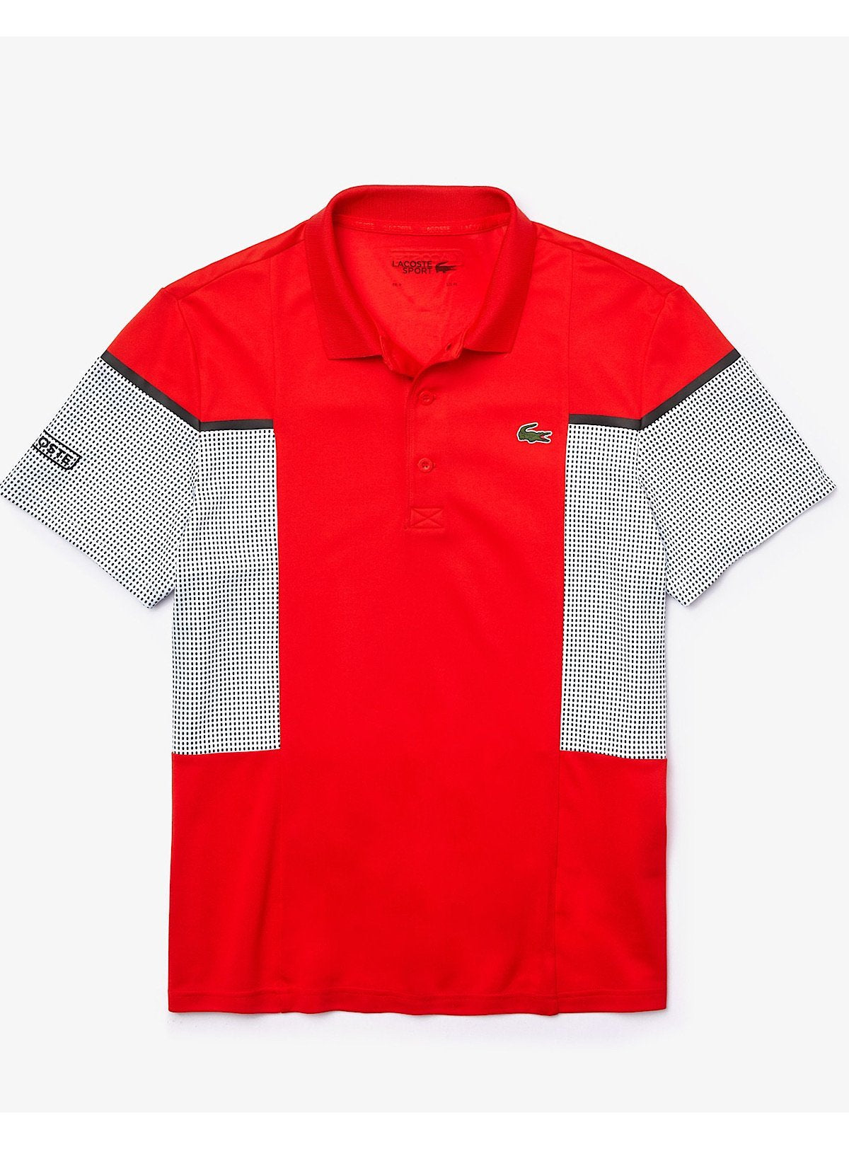 Lacoste T-Shirt - Mesh Polo - Red - DH4754