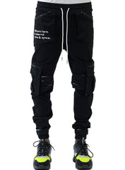 The Hideout Clothing Joggers - Eternal Energy Cargo - Black - SU20-10