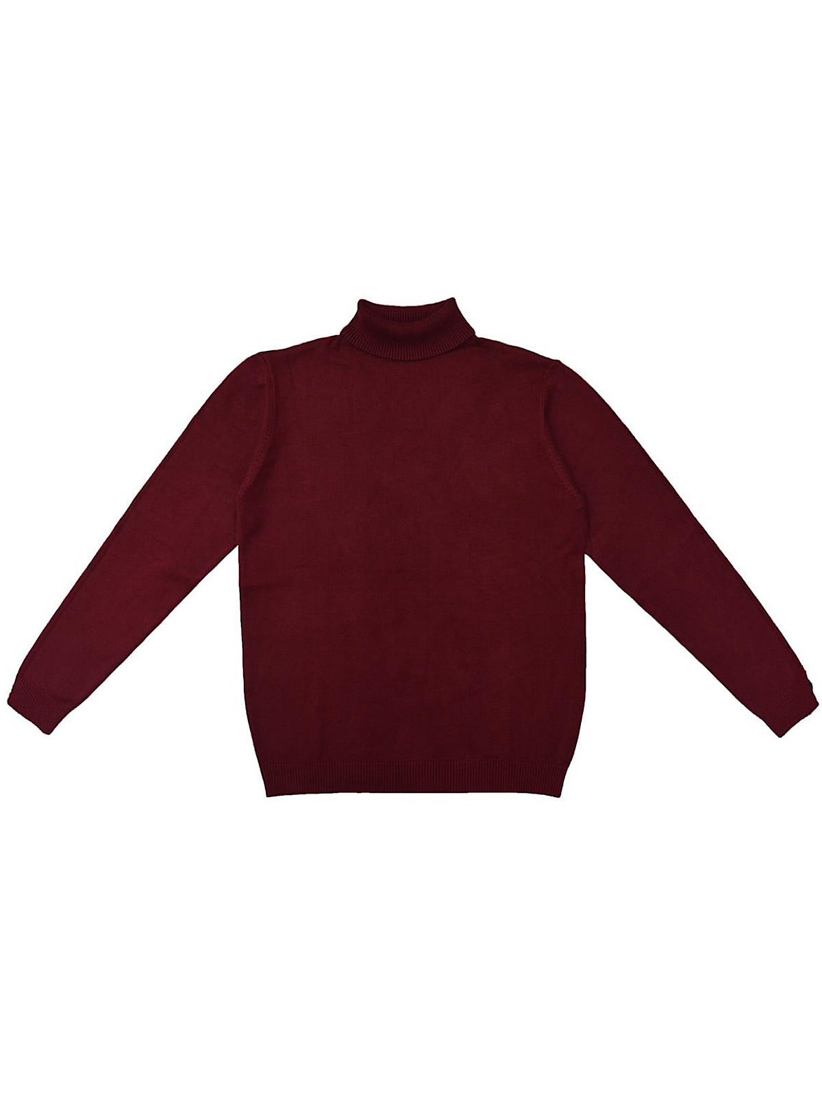 Xray Sweater - Turtleneck - Burgundy Oxblood