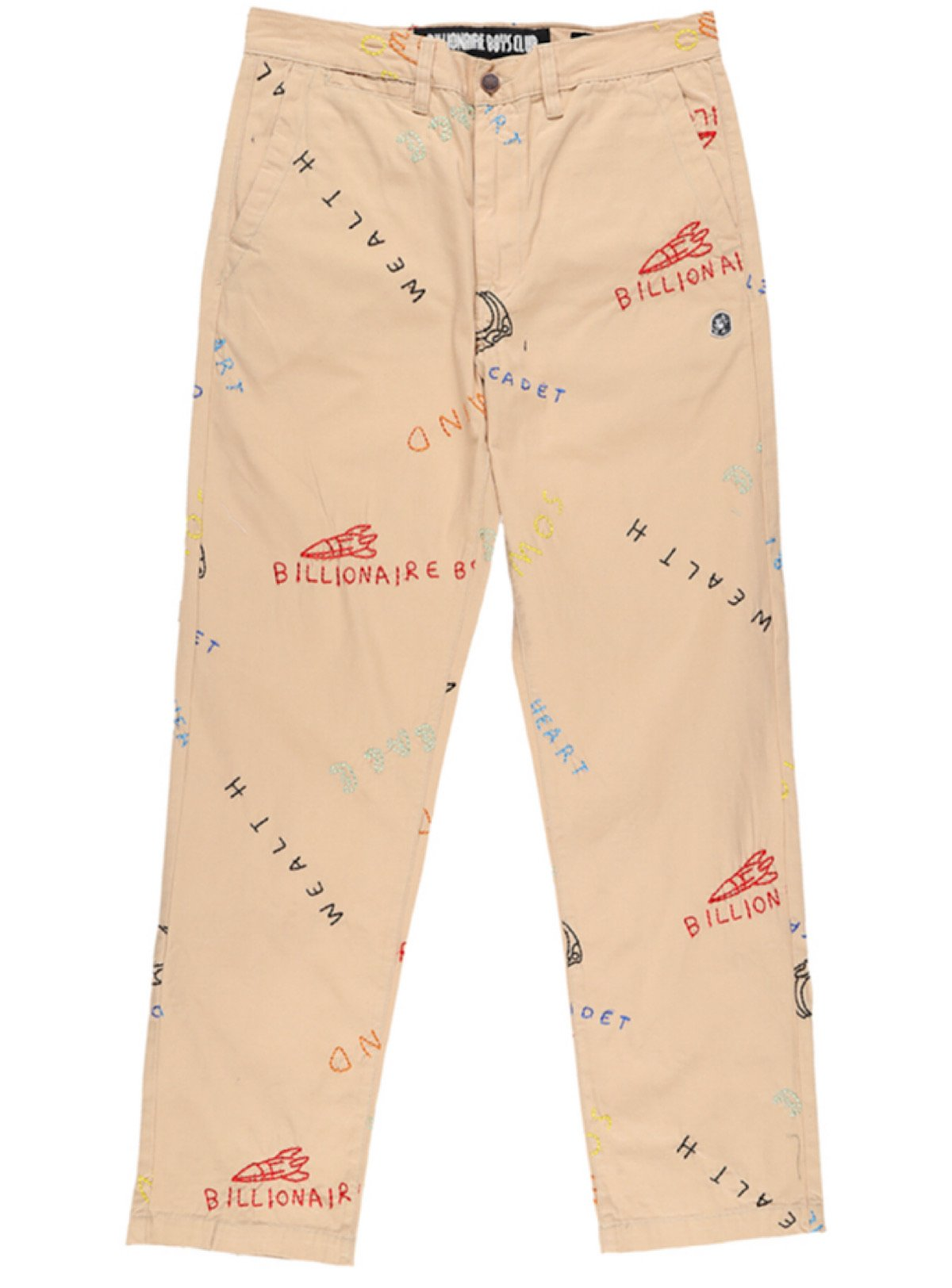 Billionaire Boys Club Pants - Thought Bubble - Croissant Tan